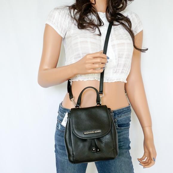 e3158b4a710d Michael Kors Bags | Riley S Flap Pack Crossbody Bag Black | Poshmark